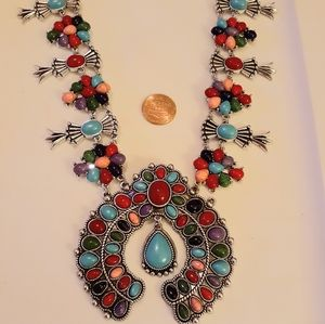 Jewelry - Multi-Colored Howlite Necklace